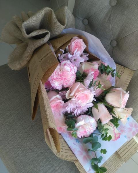 تفاؤل للزهور - زهور الزفاف - مسقط