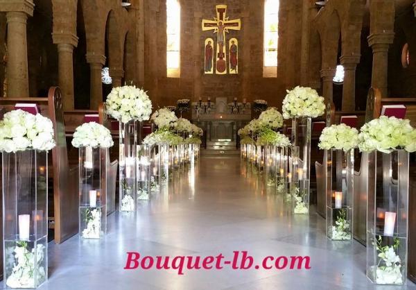 بوكيت - زهور الزفاف - بيروت