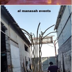 مؤسسة الصناعيون للحدادة والالمنيوم -كوش وتنسيق حفلات-أبوظبي-6