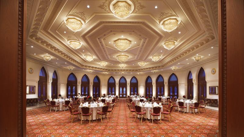 فندق قصر البستان  ريتز كارلتون - الفنادق - مسقط