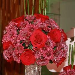 بينك كارنيشن-زهور الزفاف-الدوحة-2