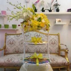 بينك كارنيشن-زهور الزفاف-الدوحة-4