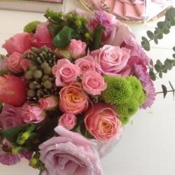 بينك كارنيشن-زهور الزفاف-الدوحة-1