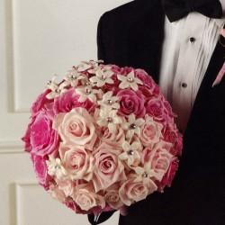 برنسس اوف روزيز-زهور الزفاف-الدوحة-2