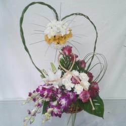 لوتس-زهور الزفاف-الدوحة-4
