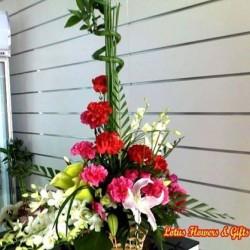 لوتس-زهور الزفاف-الدوحة-5