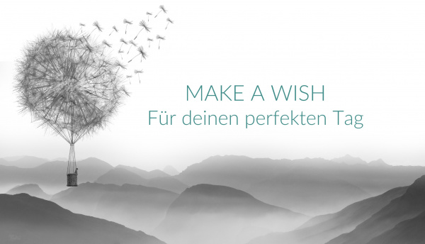 MAKE A WISH für deinen perfekten Tag - Hochzeitsplaner - Hamburg