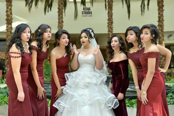 اتيليه جوليت  - فستان الزفاف - القاهرة