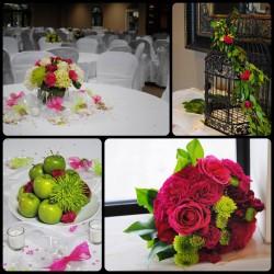ازهار داغر-زهور الزفاف-بيروت-4