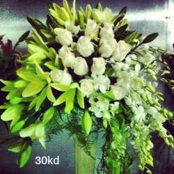 ليزانش فلورز-زهور الزفاف-مدينة الكويت-2