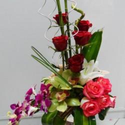 بينك اند جريين فلاورز-زهور الزفاف-أبوظبي-2