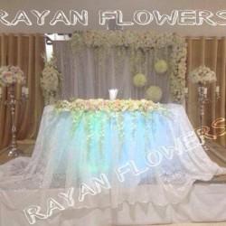زهور ريان-زهور الزفاف-بيروت-5