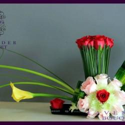 لافاندر بوكيه-زهور الزفاف-مسقط-1