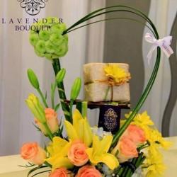 لافاندر بوكيه-زهور الزفاف-مسقط-4