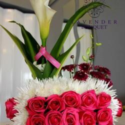 لافاندر بوكيه-زهور الزفاف-مسقط-3