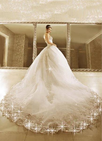 طنط عزة لفساتين الافراح - فستان الزفاف - القاهرة