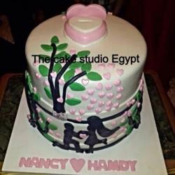 ذا كيك ستديو-كيك الزفاف-القاهرة-3
