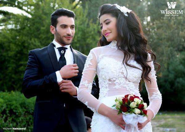 بن آغا وسام - فستان الزفاف - مدينة تونس
