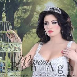بن آغا وسام-فستان الزفاف-مدينة تونس-3