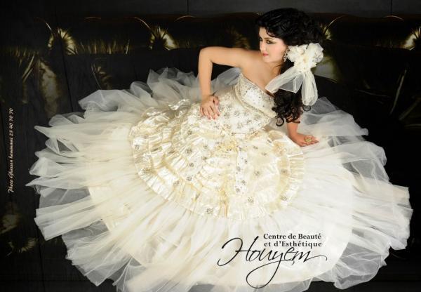 السيدة هويم زينن - فستان الزفاف - مدينة تونس