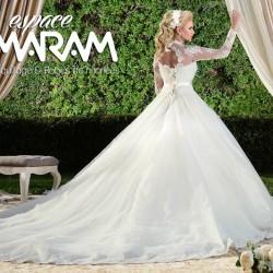 صالة مرام-فستان الزفاف-مدينة تونس-1