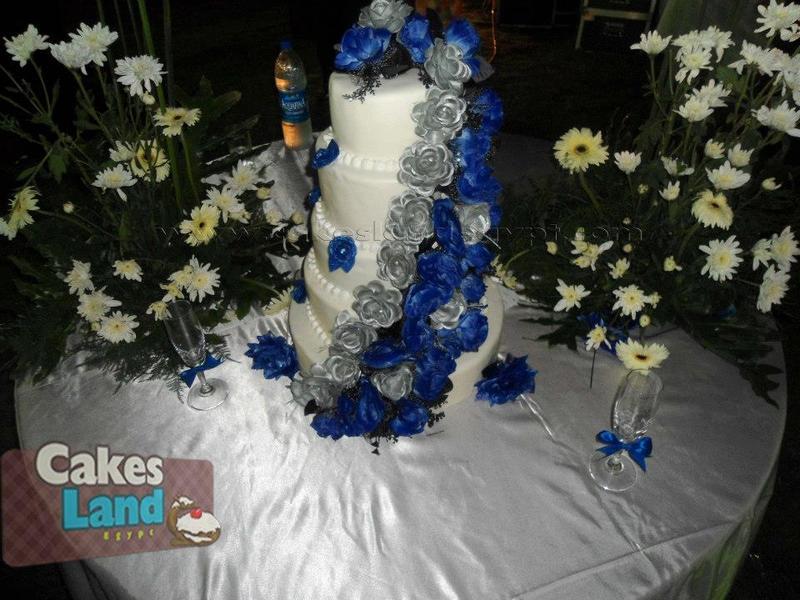 كيك لاند - كيك الزفاف - القاهرة