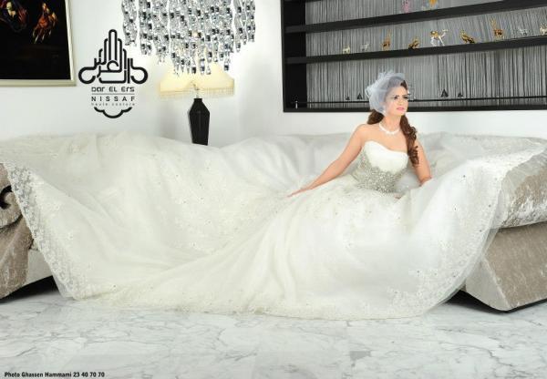 دار الارس - فستان الزفاف - مدينة تونس