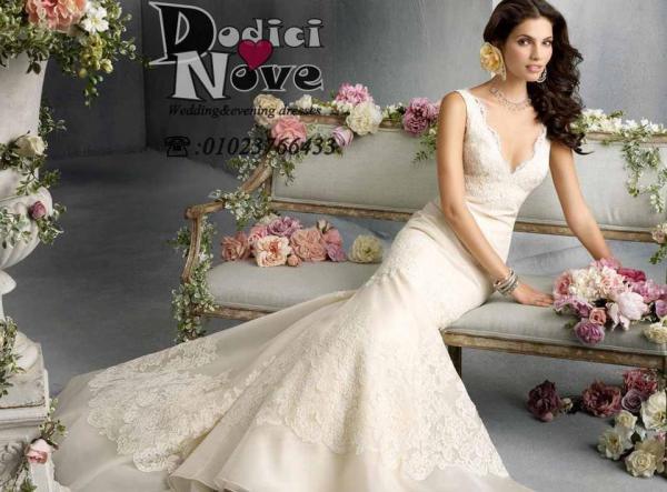 دوديشي نوفي لفساتين الاعراس - فستان الزفاف - القاهرة