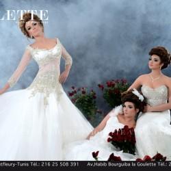 فيولت-فستان الزفاف-مدينة تونس-1