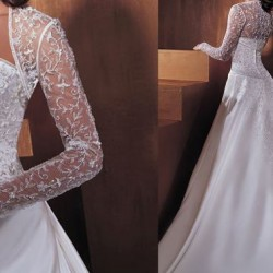 هير كوم ذا برايد-فستان الزفاف-القاهرة-1