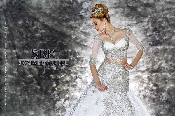 سونيا بن خليل - فستان الزفاف - مدينة تونس