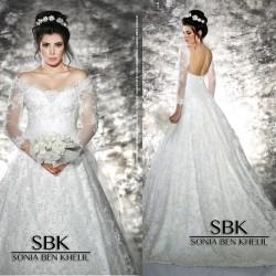 سونيا بن خليل-فستان الزفاف-مدينة تونس-6