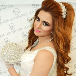 ليليا بن ازيزا-الشعر والمكياج-مدينة تونس-2