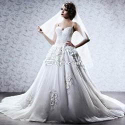 دار سارة للأزياء-فستان الزفاف-مدينة تونس-5