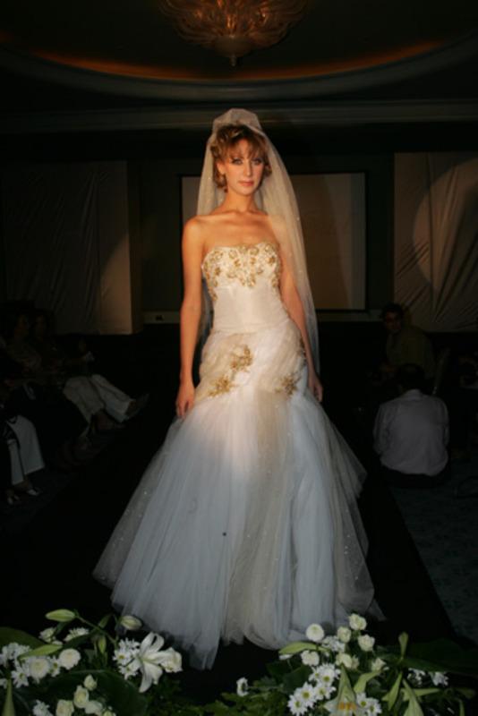 منى جاد - فستان الزفاف - القاهرة