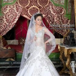 03838fb22 دار العروسة جميلة لهديري - فستان الزفاف - سوسة | Zafaf.net