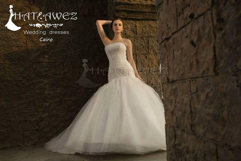 حتجوز لفساتين الافراح - فستان الزفاف - القاهرة