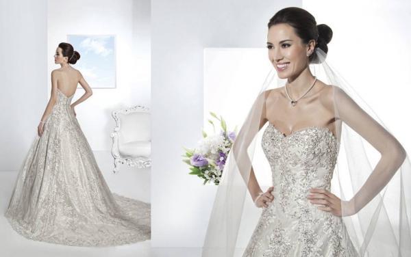نور سهم مساداك - فستان الزفاف - سوسة