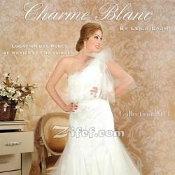 Charme Blanc Leila Lajmi-Robe de mariée-Tunis-3