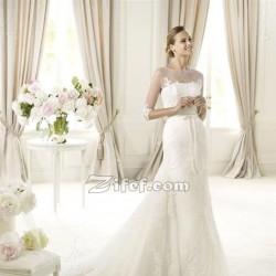 Charme Blanc Leila Lajmi-Robe de mariée-Tunis-5