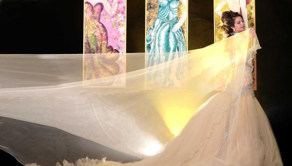 سندس علني - فستان الزفاف - مدينة تونس