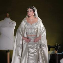 سندس علني-فستان الزفاف-مدينة تونس-2