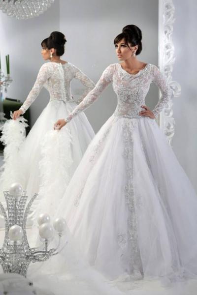 بيرل اند ليس - فستان الزفاف - القاهرة