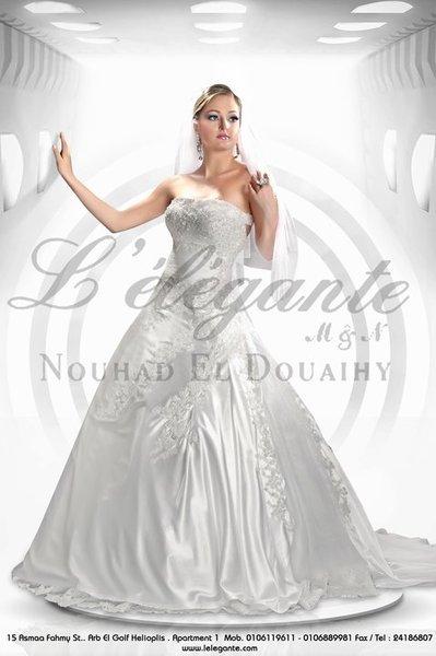 ليلي جانتي لفساتين الافراح - فستان الزفاف - القاهرة