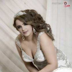 إيمان جلاصي-فستان الزفاف-مدينة تونس-3