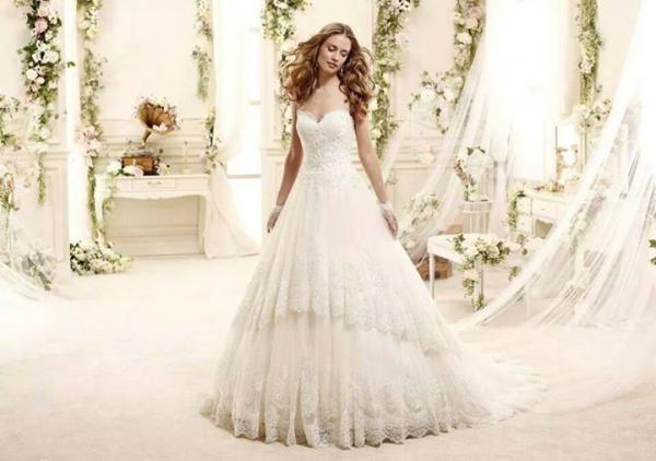 هبة مهدي لفساتين الافراح - فستان الزفاف - القاهرة