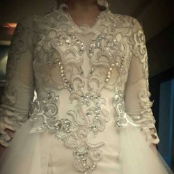 هبة ادريس-فستان الزفاف-القاهرة-6