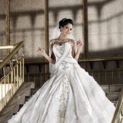 ايمان محروس-فستان الزفاف-القاهرة-5