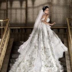 ايمان محروس-فستان الزفاف-القاهرة-3