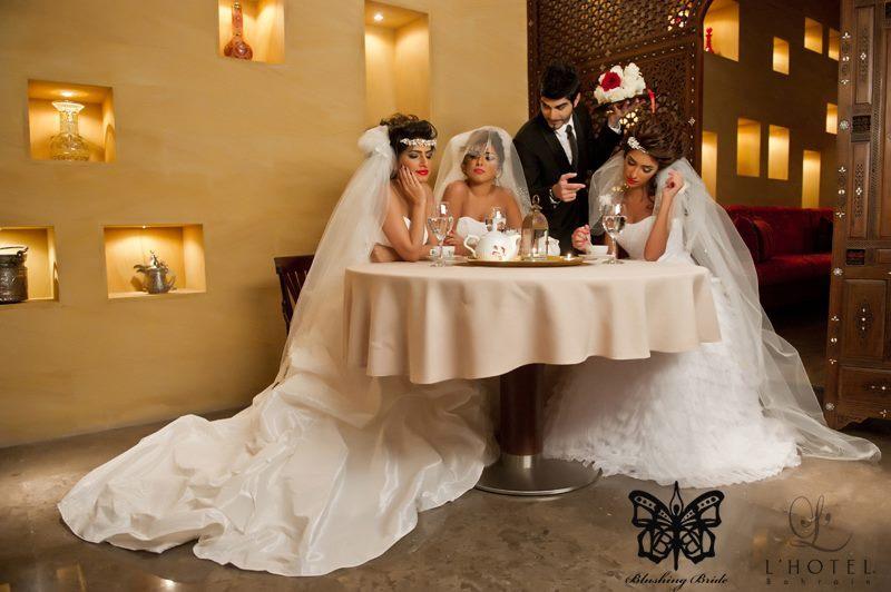 بلاشينع برايد - فستان الزفاف - المنامة